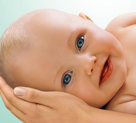 3 boyutlu bebek resimi